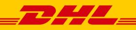 Zustellung durch DHL oder Packstation