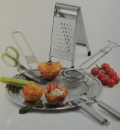 Küchengeräte aus Metall