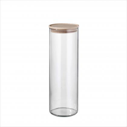 Simax Vorratsglas   mit Holzdeckel 0,4l, 0,9l, 1,5l, 2,0l wählen Sie bitte