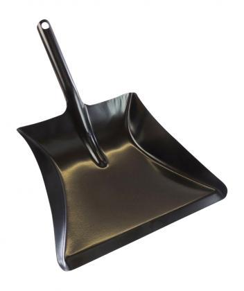 Kehrschaufel pulverbeschichtet schwarz schwarz