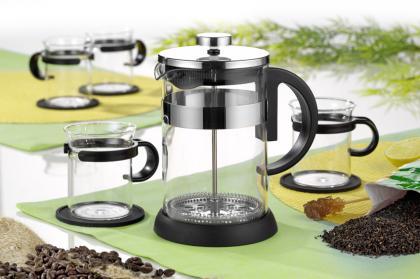 BRISTOL - Kaffee-/Teeset, 9-tlg