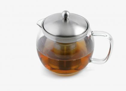 Teekanne Borosilikatglas 1,5l