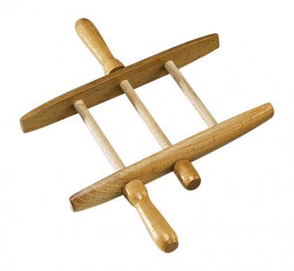 Leinenwickler  aus Holz groß