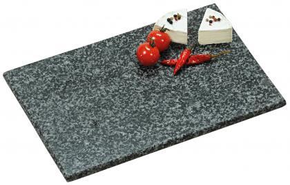 Servierplatte Granit 20x30cm