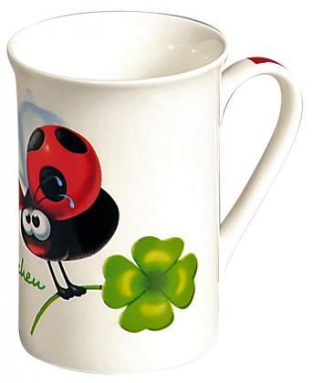 Kaffeebecher Glückskäferchen