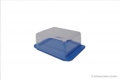 Sonja Butterdose Kunststoff blau blau