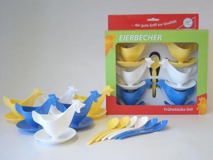 Sonja Frühstücks-Set Eierbecher Huhn
