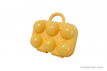 Sonja Eierträger 6-fach gelb gelb