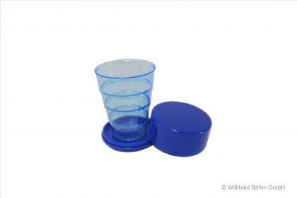 Sonja Klappbecher 0,2l blau blau