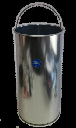 Ascheeimer 20 Liter ohne Deckel