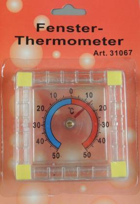 Außenthermometer quadr.