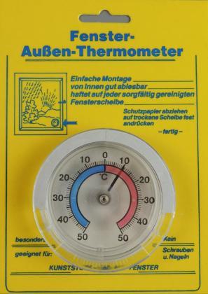 Außenthermometer  rund