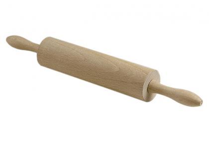 Nudelholz Teigroller mit  Metallachse