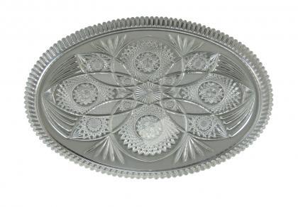Kuchenplatte oval  27,5x21cm