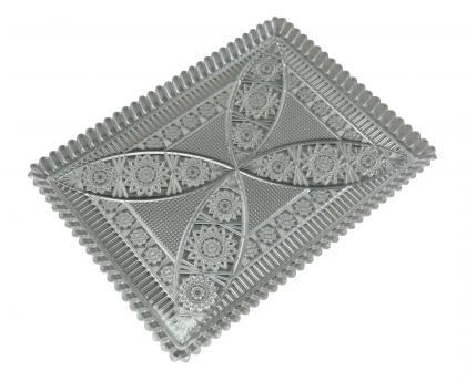 Kuchenplatte 21x16cm  Kunststoff