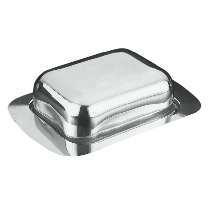 Butterdose Edelstahl
