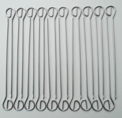 20 Schaschlikspieße, Grillspiesse 210mm