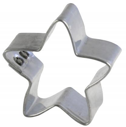 Ausstechform Stern mini 5-zackig   3,5cm