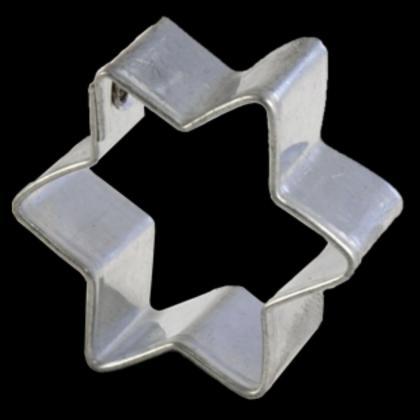 Ausstechform Stern mini 6-zackig 4 cm