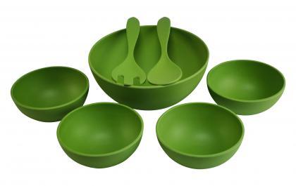 Magu Salatschüsselsatz 7- tlg grün