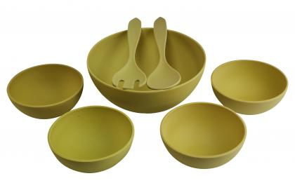 Magu Salatschüsselsatz 7- tlg gelb