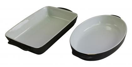Magu Auflaufform Hartkeramik oval /eckig wählen Sie bitte