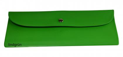 Bestecktasche Kunststofffolie lindgrün grün