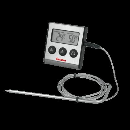 Digitalthermometer m. Timer