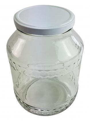 Sturzglas 1,7l mit Deckel 100mm