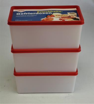 3er Pack Gefrierdosen 1,5 Liter