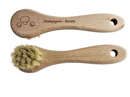 Pilz Champignon-Bürste Holz
