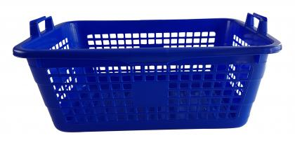 Wäschekorb 62cm blau