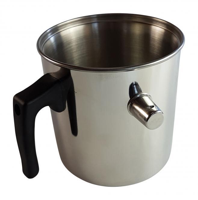 Wasserbadkocher Simmertopf 2l Edelstahl