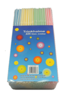 225 Stück Trinkhalme flexibel