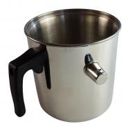 Wasserbadkocher 1,9l Edelstahl
