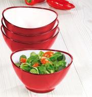 4er-Salat-Schalenset WING