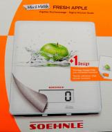 SOEHNLE Küchenwaage digital  5kg Apple