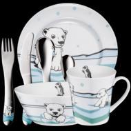 Auerhahn Kinder-Set 7tlg.  Ice Bear