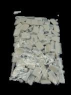 100 Stück Gardinenhaken weiß
