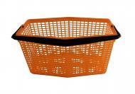 Klammerkorb 7 Liter orange